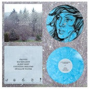 "Image of DK027: Cavalcades - Coping 12"" EP - Blue + White Splatter w/ Screenprinted B-side /63"