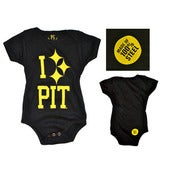 Image of PC I 'Steel' PIT Baby Onesie Black