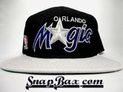 Image of Vintage Deadstock Orlando Magic Sports Specialties Two Tone Script Snapback Hat Cap
