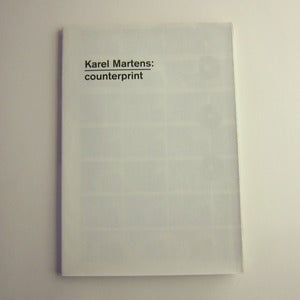 Image of Karel Martens: Counterprint