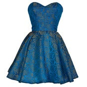 Image of Turquoise Midas Party Dress