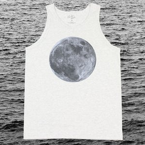 Image of BLUE COYOTE MOON TANK - Ash
