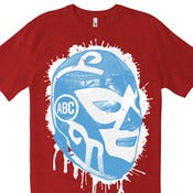 Image of Lucha Libre Splatter / red heather