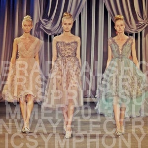 Image of MP3: Christian Siriano Spring/Summer 2013 Runway: Electric Symphony
