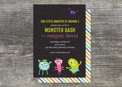 Image of Little Monster Mash Invitation (10)