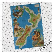 Image of VINTAGE NZ PUZZLE