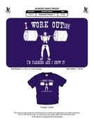 Image of I Work Outside T-Shirt