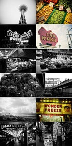 Image of Seattle photograph print pack #1 by Ryan Russell