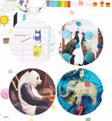 Image of marumaru little sticker series, no.02
