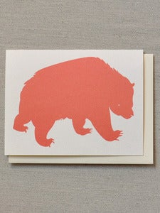 Image of Bear Note Card