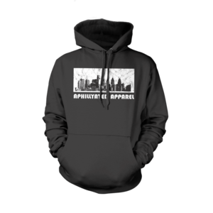 Image of Vintage Skyline Hoodie (Black)