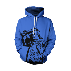 Image of Ben Jammin' Hoodie (Royal) 