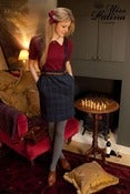 Image of Embrace Me Tartan Skirt (blue)
