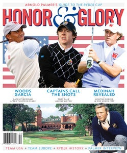 Image of Honor &amp; Glory - Arnold Palmer's guide to the Ryder Cup