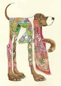 Hound Dog - Card