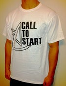 Image of White Call To Start T-Shirt