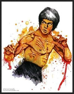 Image of Nichole Camarillo - Master of Self - Bruce Lee - Original Artwork