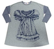 Image of Trompe l'oeil Doll Dress