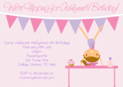 Image of Little Gymnast Birthday Invitation