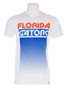 Image of FLORIDA GATORS MENS WHITE FADE OUT TEE