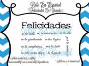Image of Felicidades En Grande