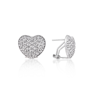 Image of Heart Studs