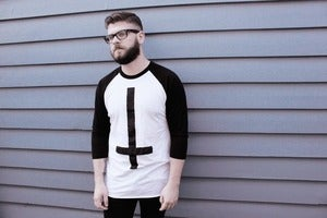 Image of Unisex Team Evil 3/4 Raglan