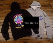 "Image of NEW! Pink Dolphin ""Light House"" Hoody Sweater Collection (Black/Gray)"