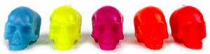 Image of DL & Co. - Spring 2012 Collection Mini Skull Gift Set Brights