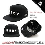 Image of FILTER017 X  EVANGELION 10th ANGEL ZERUEL SNAPBACK CAP