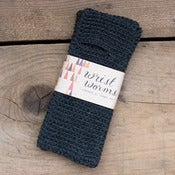 Image of Original Wrist Worms, Merino Wool, Dark Dark Grey