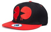 Image of NEW! Kidrobot Pac Man Drip Snapback Hat Collection