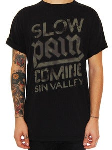 Image of SIN VALLEY &quot;Slow Pain&quot; t shirt