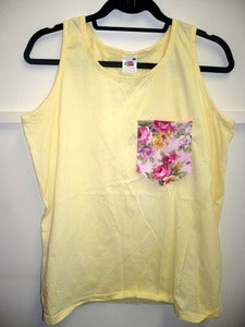 Image of Pastel Collection - Floral Lemon Yellow
