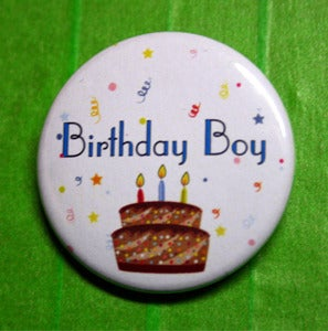 Image of Happy Birthday Pins
