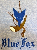 Image of Blue Fox Vintage Menu T-Shirt: Women's