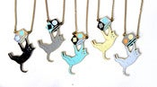 Image of Swinging Cat Necklace