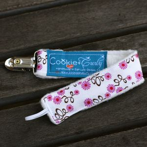 Image of Pacifier Leash / Double-Clip Leash