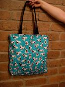 Image of Sausage Dog tote! READY TO SHIP!