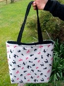 Image of Cat Tote! READY TO SHIP!