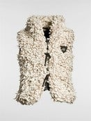 Image of ON SALE: Faux Shearling Vest