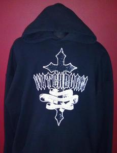 Image of Cross Design Hoodie