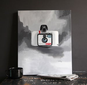 Image of POLAROID painting