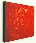 Image of Gold Cherry Blossoms-16x20 Fine Art Canvas Print