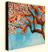 Image of Cherry Tree-16x20 Fine Art Canvas Print