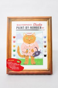 Image of Paint By Number Kit