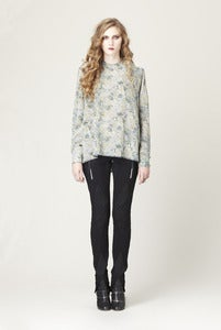 Image of CHAIN MOSS BLOUSE