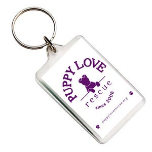 Image of Puppy Love Key Ring