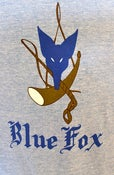 Image of The Blue Fox Hoodie: Unisex