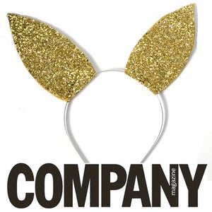 Image of Cottontail - Glitter Bunny Ears LIMITED EDITION